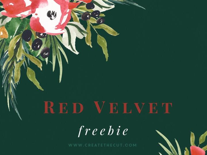 Free Clip Art – Red Velvet