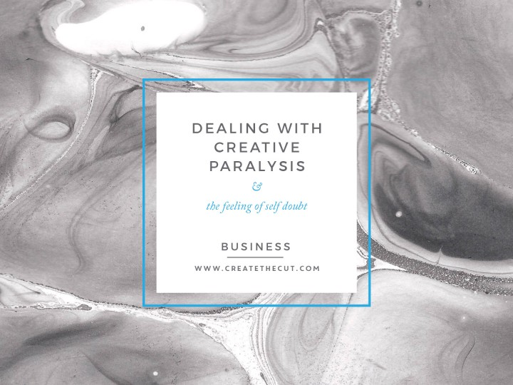 Dealing with Creative Paralysis