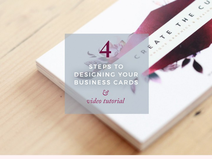 How To Design Your Own Business Cards